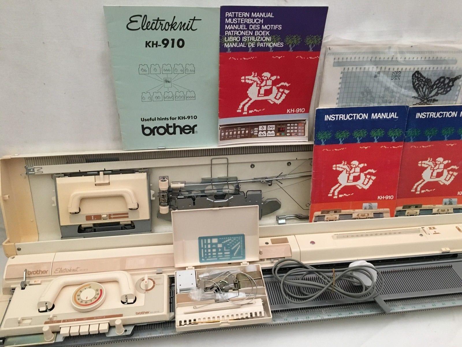 Brother Computer Strickmaschine KH 910 mit... (Dülmen) - Nähen ...